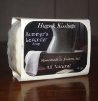 Summer's Lavender Bar Soap (4 oz.)
